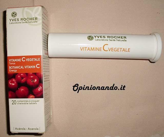 Yves Rocher Vitamina C vegetale Barattolo - #Opinionando #recensione