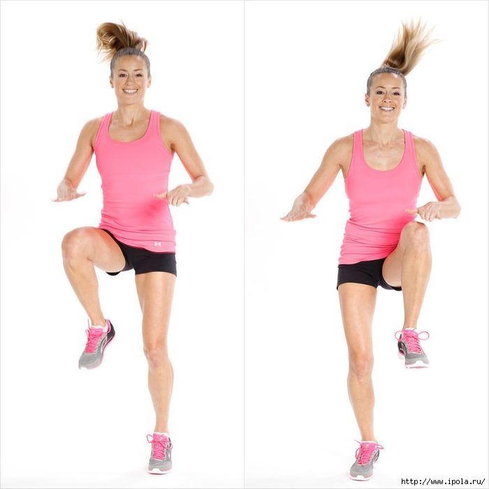 Прыжки для похудения рук