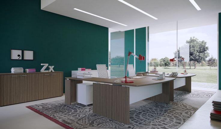 ZERO working office desk by Prof Office
