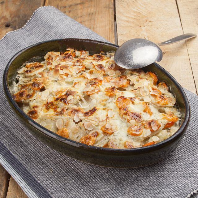 Een heerlijke gratin van aardpeer en wortel http://cuisinevansabine.nl/gratin-van-aardpeer-en-wortel/