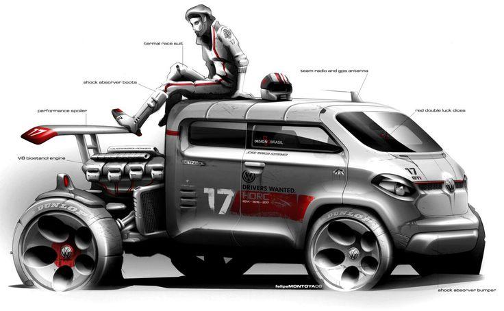 Fun concept art. VW DC truck.
