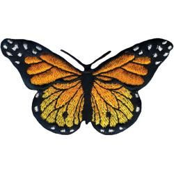 Monarch Butterfly Iron On Applique by GabbysQuiltsNSupply on Etsy, $2.25