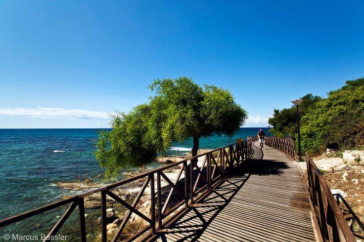 Cyprus Lemesos seafront