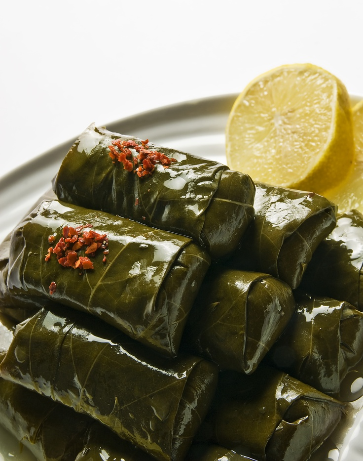 Dolma / grape leaves and rice