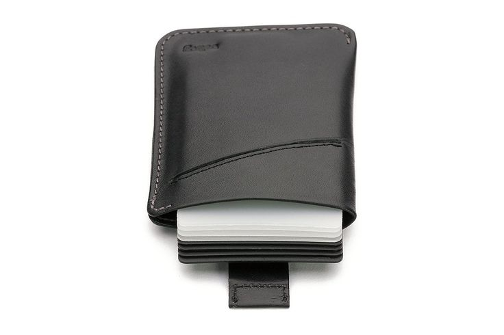 Bellroy Men's Leather Card Sleeve Wallet Black at Amazon Men's Clothing store: