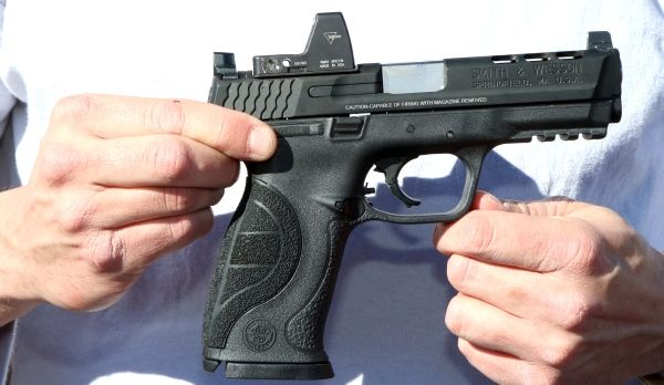 Las vegas smith wesson showed off its new m p for M p ported core 9mm