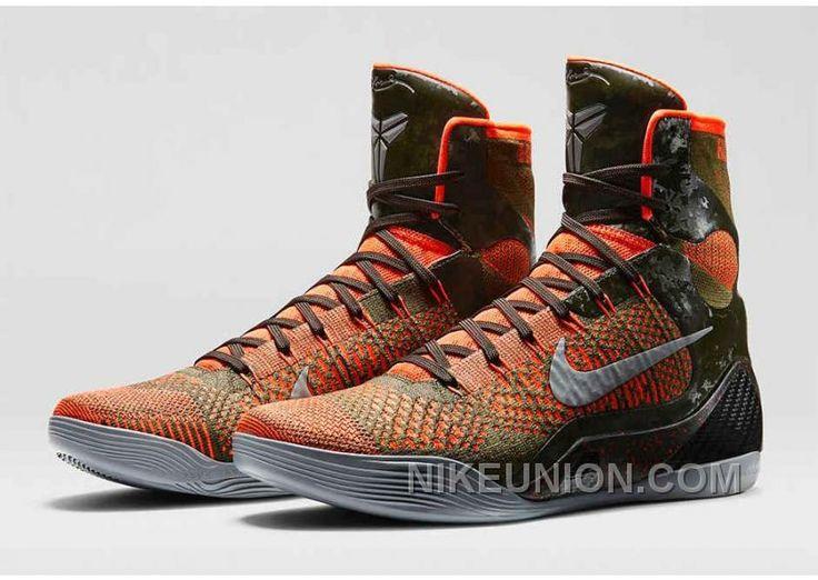 Cheaper Nike Kobe 9 Elite Cheap sale Court Purple Gold Laser Ora
