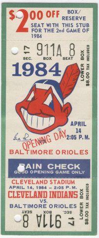 opening day baseball cleveland