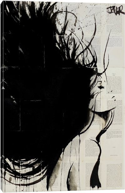 The New Mistral by Loui Jover Canvas Print