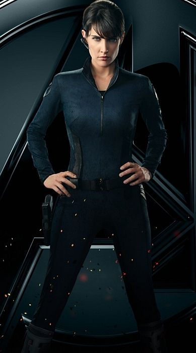 Cobie Smulders: Agent Maria Hill in The Avengers @Micah G Will this one work? It's really the only good one I've found so far. i'll keep looking, though.