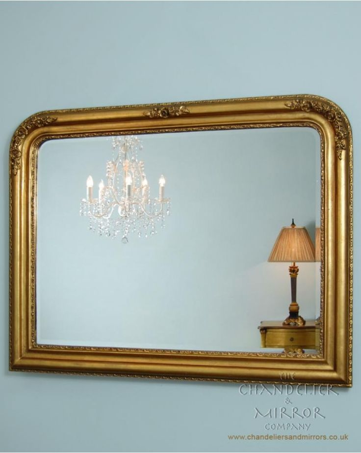 Overmantle Mirror Gold Inc