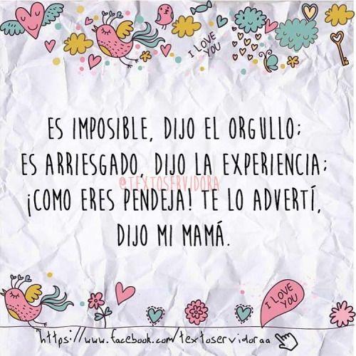 ¡Mama siempre tiene la razón!