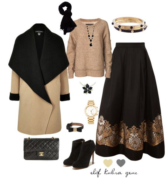 Chic combination from @elifkubragenc