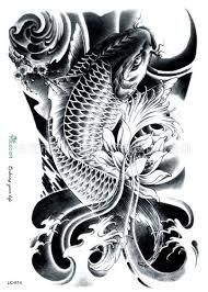 Afbeeldingsresultaat voor karper lelie water tattoo