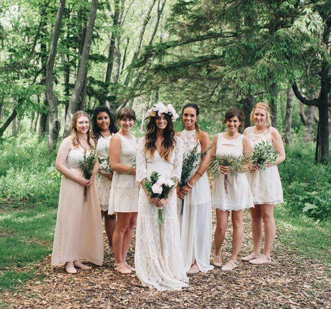 Bohemian Backyard Wedding In Milwaukee: Rea + Danny