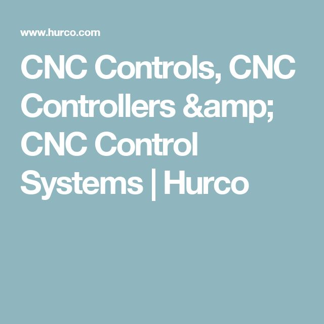 CNC Controls, CNC Controllers & CNC Control Systems | Hurco