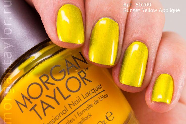 Morgan Taylor Sunset Applique