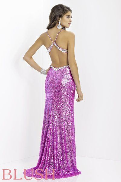 Blush Prom Dresses 2014 - Call or visit CC's Boutique for more information http://www.tampabridalshops.com/prom-dresses-2014.html