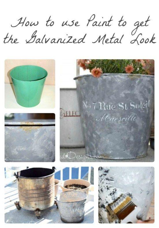 Best 25+ How to rust galvanized metal ideas on Pinterest ...