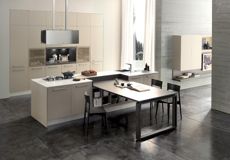 #mutlifunctional #kitchen and #dining space