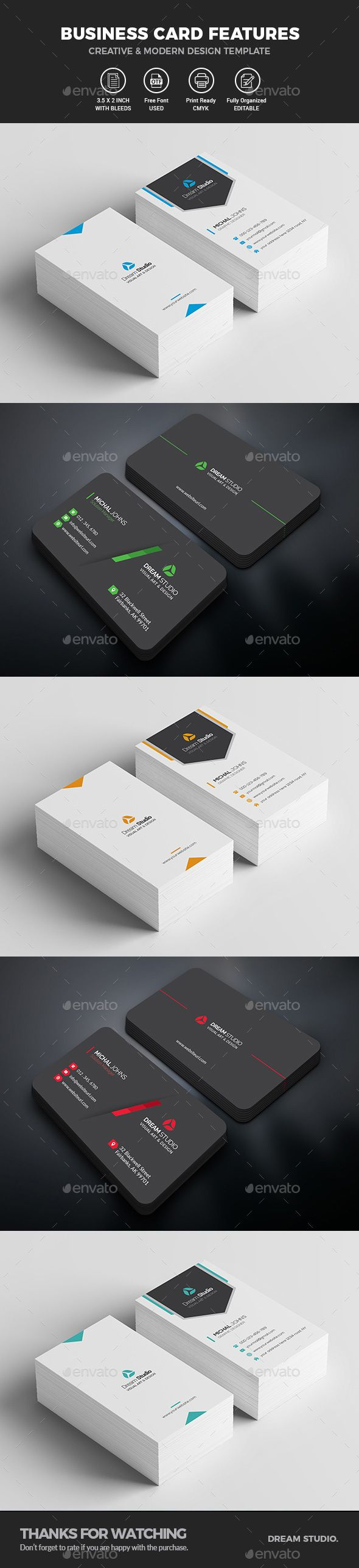 37 best business cards dream studio eg images on pinterest business card bundle 2 in 1 cheaphphosting Choice Image