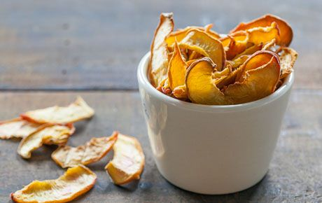 Turn fresh peaches or nectarines into a great mess-free, on-the-go snack by drying slices in a low oven. These sweet, chewy treats are perfect for lunchboxes and homemade trail mix. Stash them in the car or your bag for anytime snacking.
