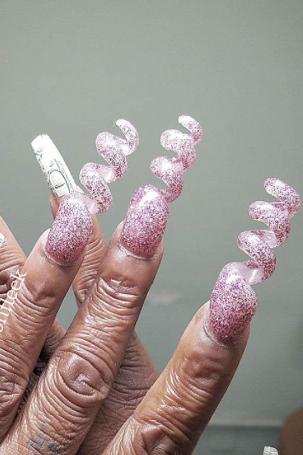19 Of The Weirdest Nail Art Trends Ever With Images Crazy