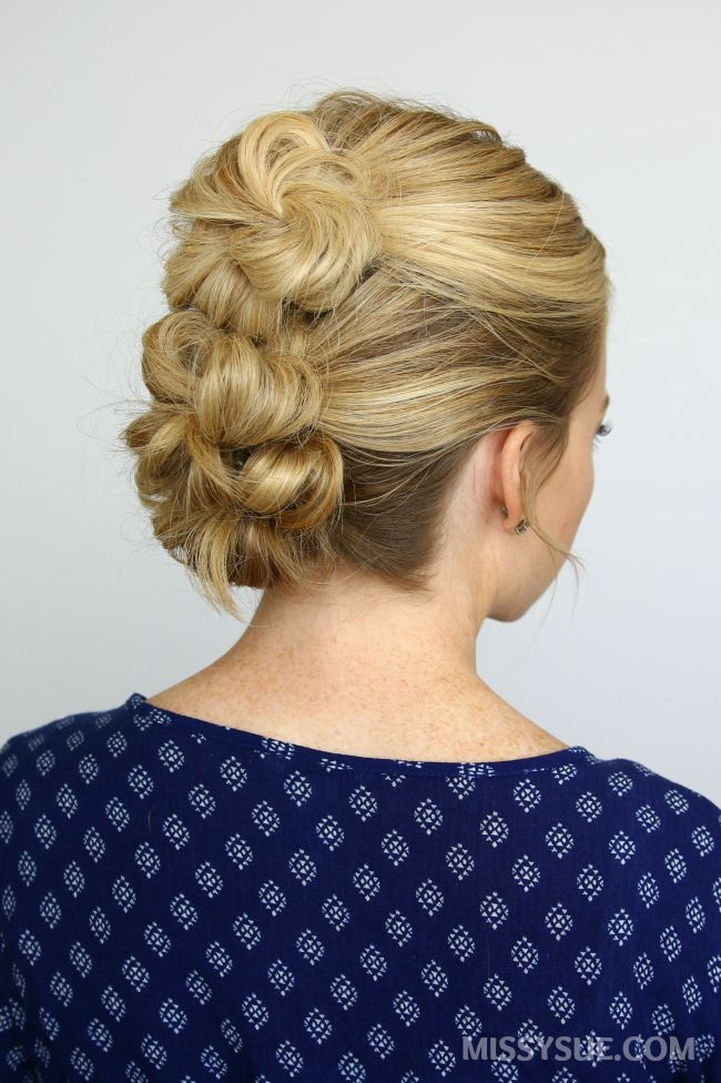 5 Summer Mini Bun Hairstyles – MISSY SUE