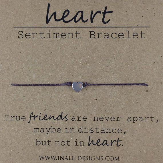 Heart vriendschap parel armband, sierlijke parel armband, armband van de ware vriend, beste vriend cadeau, vriend verhuizen weg cadeau, als Sentimental cadeau