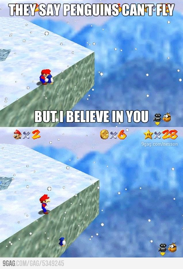 If you never did this in Super Mario 64, then you never play