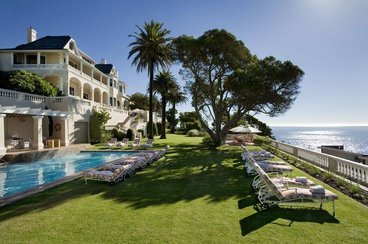 The magnificent Ellerman House on Cape Town's atlantic seaboard.
