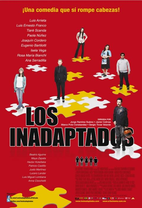 Los Inadaptados: Maya Zapata, Paola Nuñez, Ana Serradilla, Rosa María Bianchi