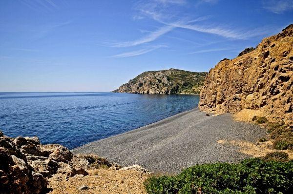 Mavros Gialos beach