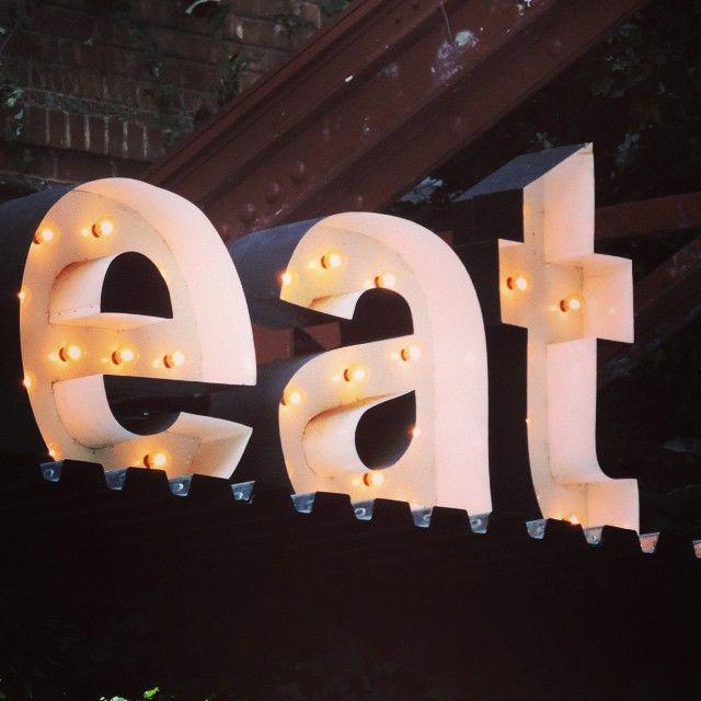 #HudsonHotel #eat #sign #food #Manhattan #NewYork #NYC #ajcphotography