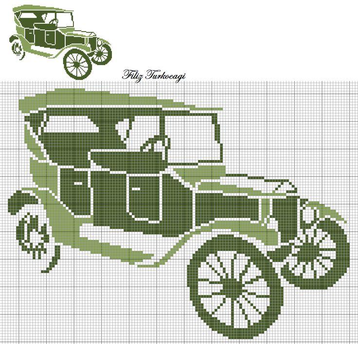 Eski Otomobiller-3 ( Old Car-3 ) Şule Hanım'a sevgilerimle...Designed by Filiz Türkocağı
