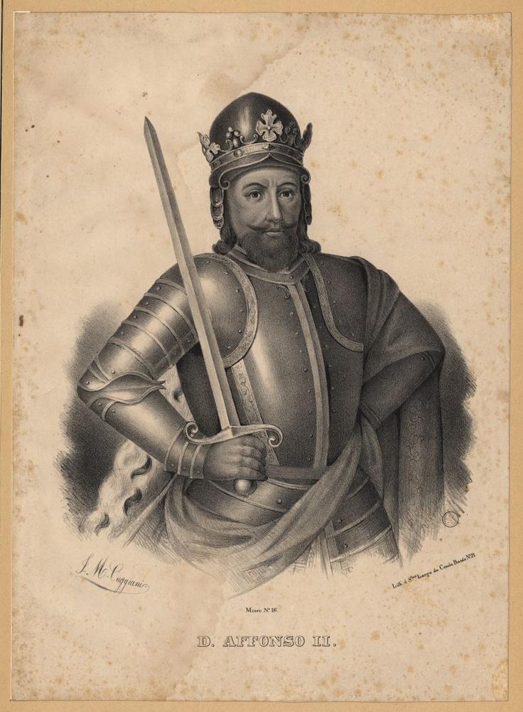D. Afonso II de Portugal (cognominado O Gordo, O Crasso ou O Gafo, em virtude da doença que o teria afectado; Coimbra, 23 de Abril de 1185 - Santarém, 25 de Março de 1223), terceiro rei de Portugal, era filho do rei Sancho I de Portugal e da sua mulher, Dulce de Berenguer, mais conhecida como Dulce de Barcelona, infanta de Aragão. Afonso sucedeu ao seu pai em 1211.