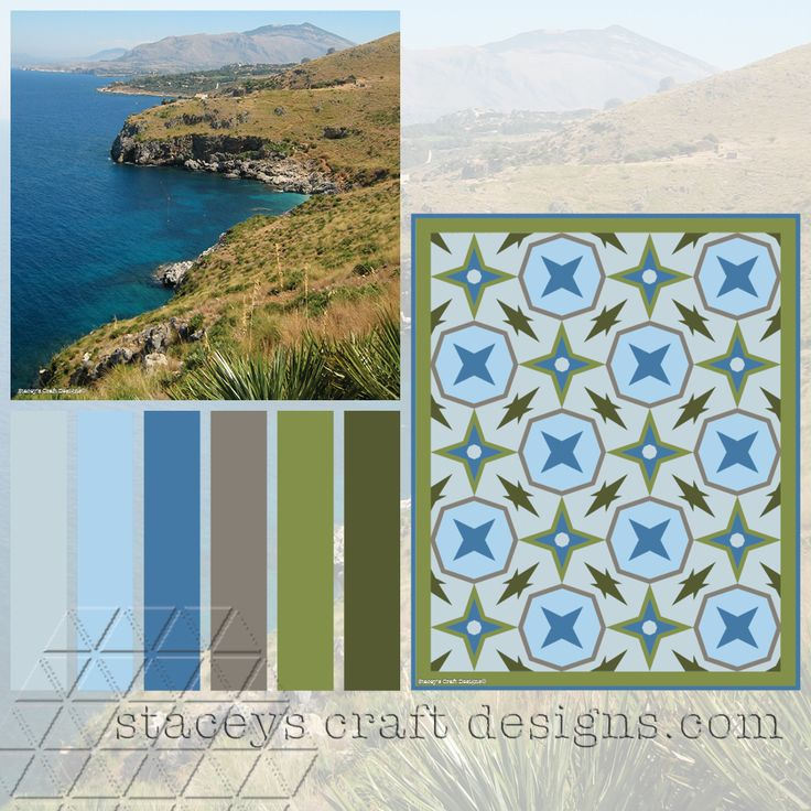 Colour Palette Zingaro Reserve by Stacey's Craft Designs