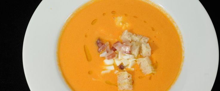 Salmorejo de zanahorias | Hit Cooking #hitcooking #bewimit http://hitcooking.com/tapas/salmorejo-de-zanahorias