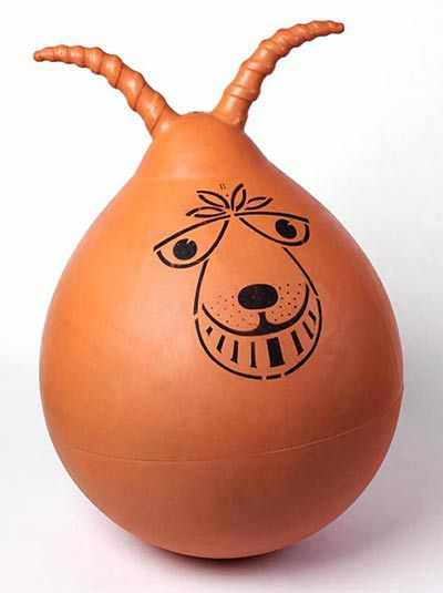 The Space Hopper, how much bouncing could a kid do during the six week summer holidays.