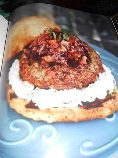 """Le Chef Pierre D'Iberville: Burger """"Le Marocain"""""""