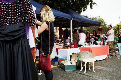 Newtown Community Market Held every Saturday at King Street and Enmore Road, Newtown