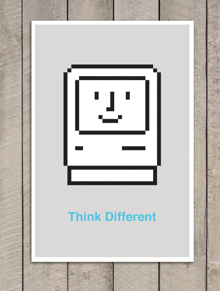 Genuine Apple Poster  -  24.6 in x 16.4 in - MEDIUM. $25.00, via Etsy.