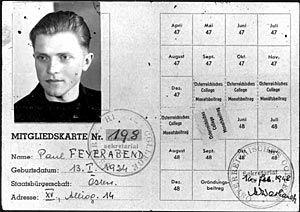 Ist das Bild von Paul Feyerabend als philosophischem Anarchisten falsch? Rückblicke auf seine prägenden Jahre in Wien bergen jedenfalls einige überraschende Einsichten.