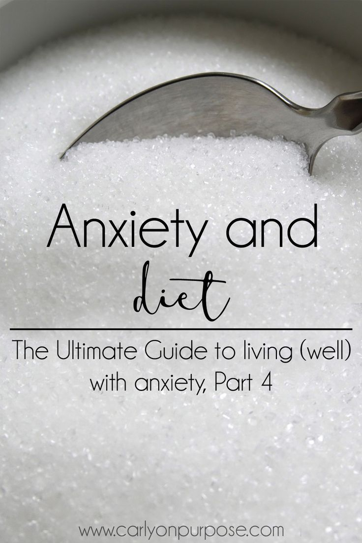 Anxiety SUCKS! Everything we put into our bodies affects the way our brains work. Could making changes to your diet help with you anxiety?