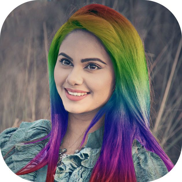 #NEW #iOS #APP Hair Color Changer - Hairstyle Makeover Booth - Chirag Pipaliya