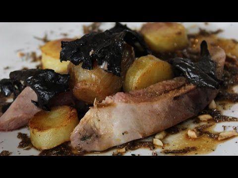 Recept voor fazant met champignons, witloof en truffel | njam!
