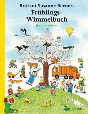 """Libri """"cerca e trova"""", """"aguzza la vista"""" e Wimmelbuch per sviluppare la capacità di osservazione dei bambini - Frühlings-Wimmelbuch"""