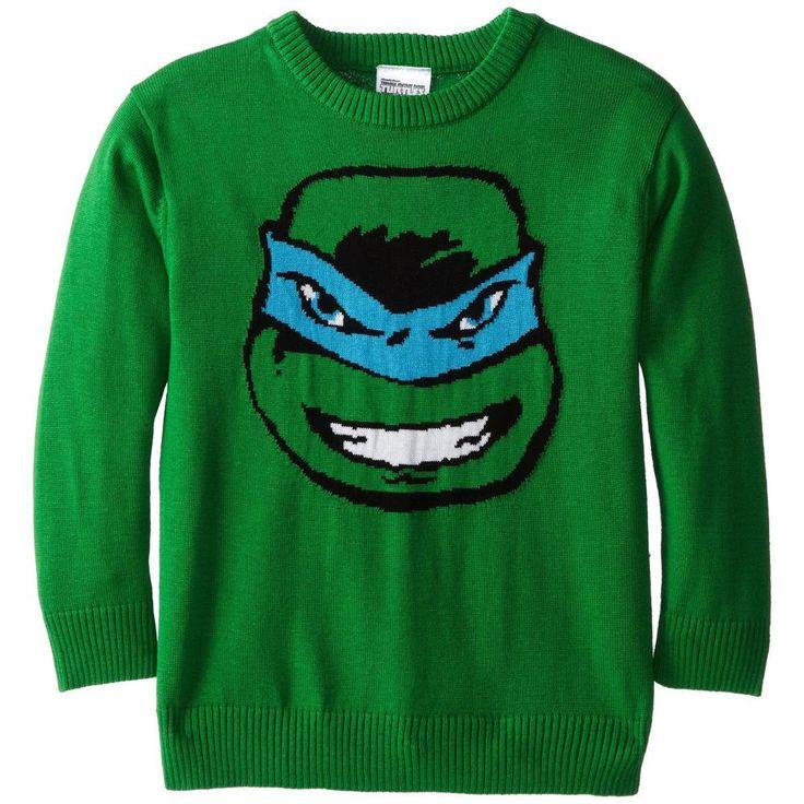 Teenage Mutant Ninja Turtles - Leonardo Youth Intarsia Sweater