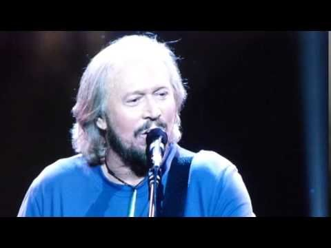 Barry Gibb Montage • Mythology tour 5/15/14 opening night in Boston.