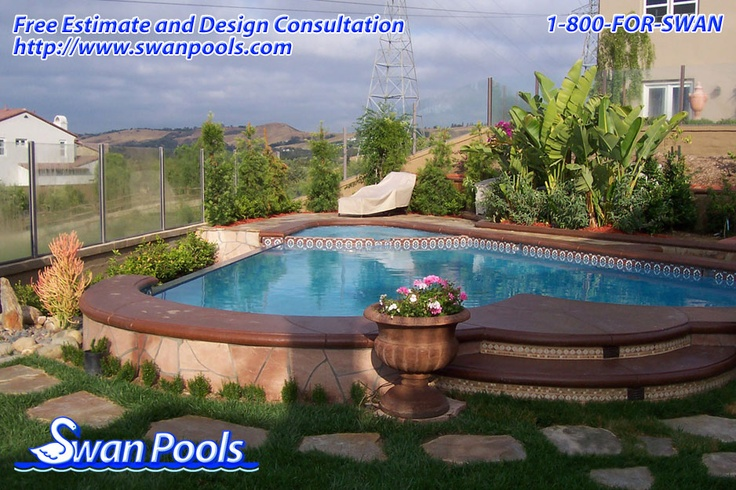 1000 images about swan pools aesthetics plaster on pinterest for Pool design estimator